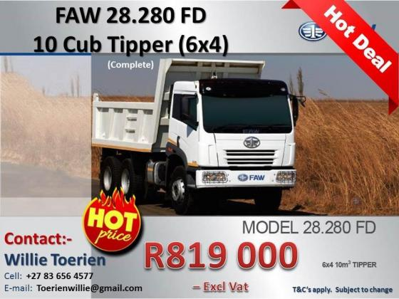 FAW Commercial trucks