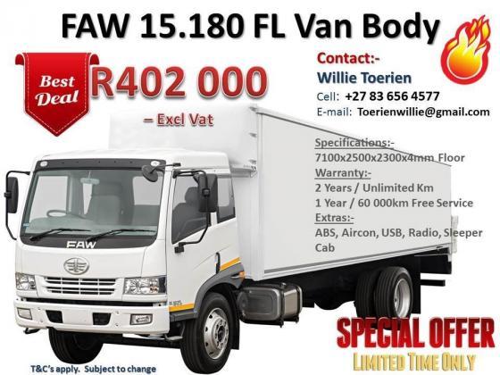 FAW Commercial trucks in Johannesburg, Gauteng