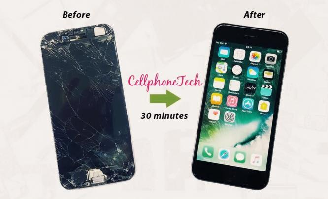 iPhone screen repair - Cellphonetech Edenvale