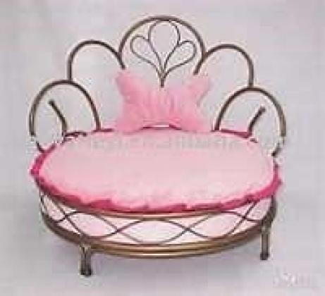 Large Wrought Iron Doggy Bed for Sale