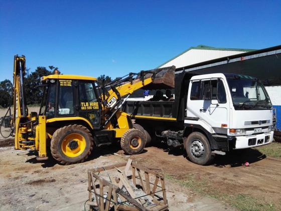 TLB, Bobcat and Tipper Hire Durban