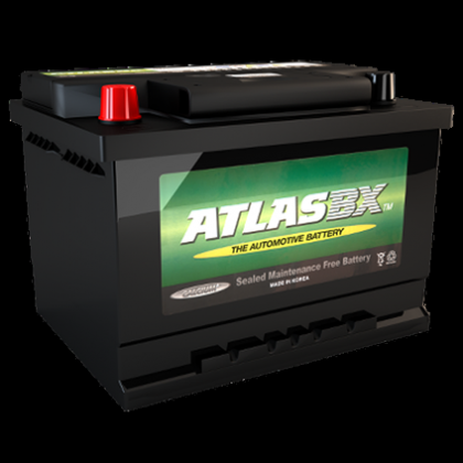 Atlas 616 12v 40ah Car battery - Maiden Electronics Battery Fitment Centre R866