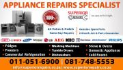 DOMESTIC APPLIANCE REPAIRS | ALL MAJOR BRANDS | CALL NOW
