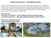 Holiday accommodation in Ballito to available
