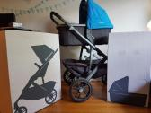 Uppababy Vista Stroller with Bassinet - Carbon Frame