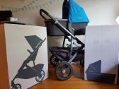 Uppababy Vista Stroller with Bassinet - Carbon Frame