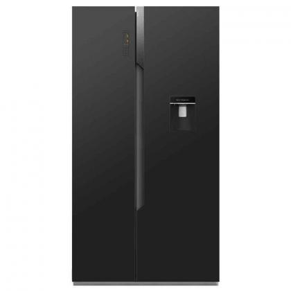 HISENSE 670LT SIDE-BY-SIDE FRIDGE WITH WATER DISPENSER MODEL - H670SMI-WD