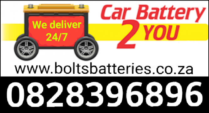 New Car Batteries. *24/7* After hours