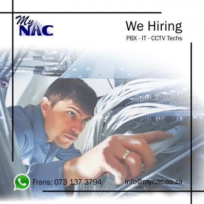 PBX-IT-CCTV Techs