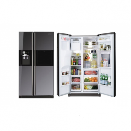 CLearance Sale, Samsung RS21HFLMR - 524l Mirror Side-By-Side Fridge/Freezer
