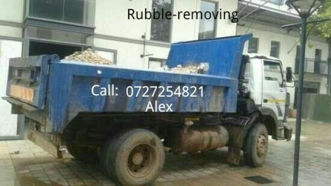 We do house demolition and Rubble removals services