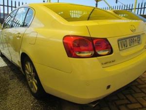 WHITE 2007 LEXUS GS300