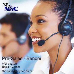 Pre-Sales - Benoni
