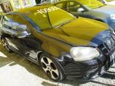 BLACK VOLKSWAGEN GOLF GTI 2.0