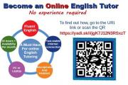 Become an Online English Tutor