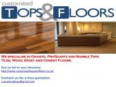 Countertops and Floors to suit your design and budget