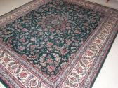 Hand Knotted Persian Kashan Rug - 9'x10'8