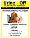 Urine Off Safely Removes Human and Pet Urine Stains and Odours