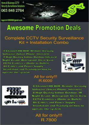 CCTV Security Camera Installations
