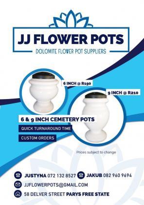 Flower Pots 6 inch