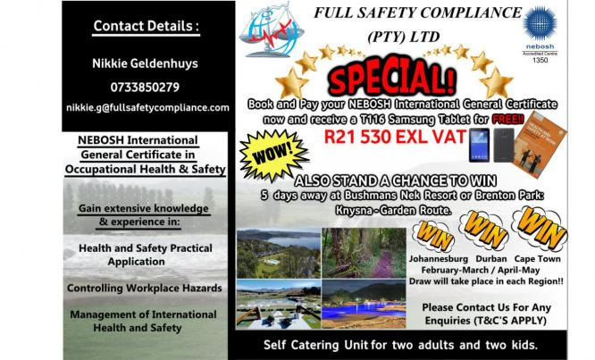 Full Safety Compliance - International Health & Safety Course