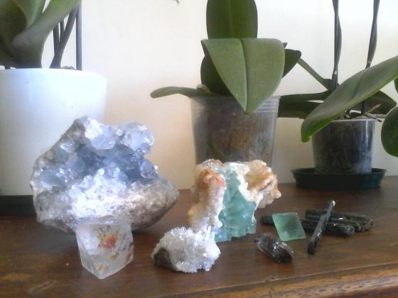 Minerals from South-Afrika and Madagascar