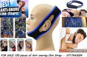 Sales Opporunity- I have a shipment of 150 pieces of Anti-snoring Chin Straps from USA