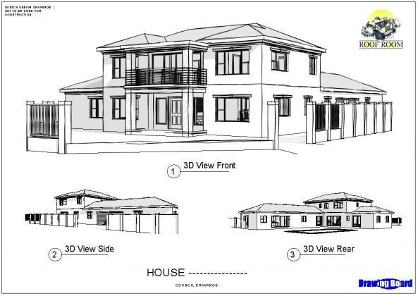 Architectural Building & Council plans R1000 & 50% off
