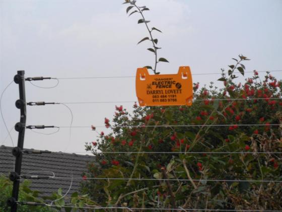 Electric Fence Certificates
