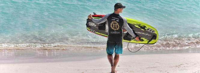 jet powered surfboard