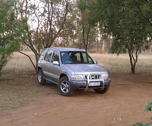 Kia Sportage 4 x 4 2002 2L Petrol