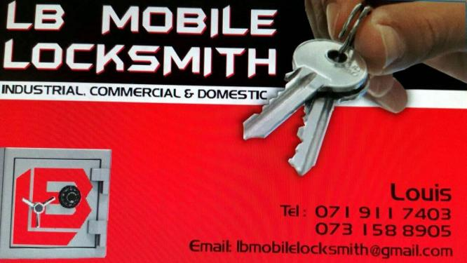 LOCKSMITH SERVICES IN AND AROUND JOHANNESBURG SOUTH