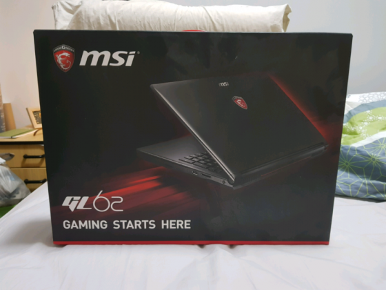 MSI GL62 7QF 1659 15.6 Gaming Laptop in Kimberley, Northern Cape