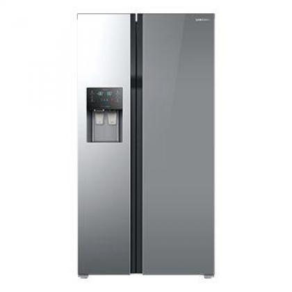 SAMSUNG - 535ltr Side By Side Freezer Fridge Mirror