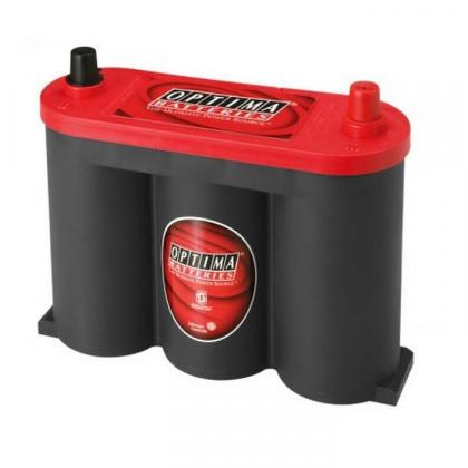 Optima Redtop 6v 50ah Battery - Maiden Electronics Battery Fitment Centre R3644