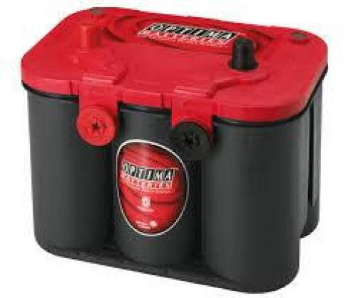 Optima Red Top 12v 50ah Car Battery - Maiden Electronics Battery Fitment Centre