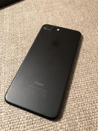 Used iPhone 7plus MATTE BLACK