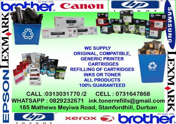 Compatible Ink & Toner Printer Cartridges at Affordable Prices