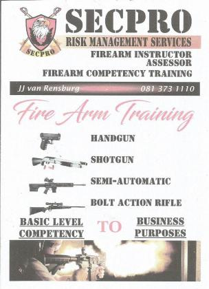 Full Firearm Competency Training and Indoor Shooting Range