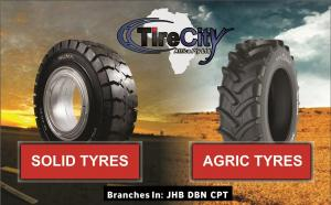 Importer / Dealer of:  Hyster Tyres, Forklift Tyres, Implement Tyres, solid tyres & more in port Eli