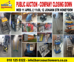 Auction Wed 11 April at 11:00