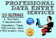 Home Based Typist/Data Entry Clerks Positions Available