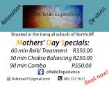 Mothers' Day Reiki Specials