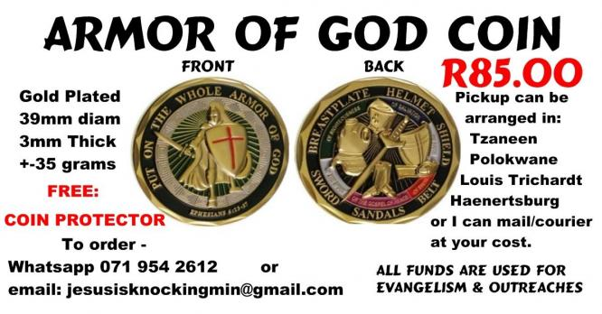 Armor of God Coins