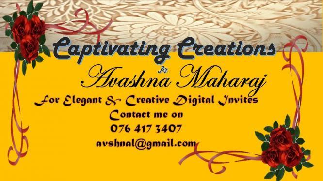 Captivating Creations - Elegant Digital Invites