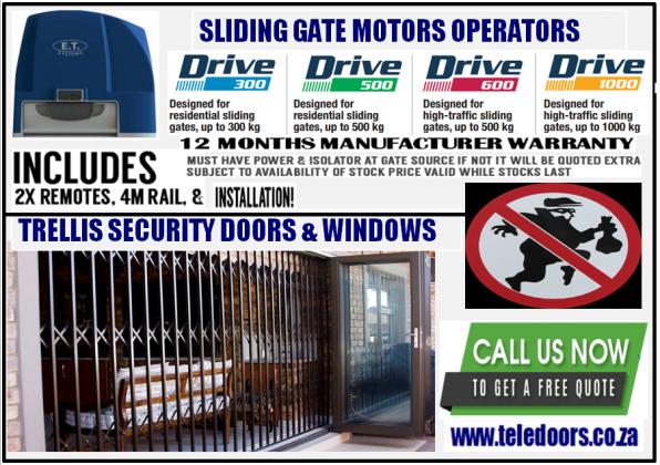 GARAGE DOORS (GARAGE & GATE MOTORS)