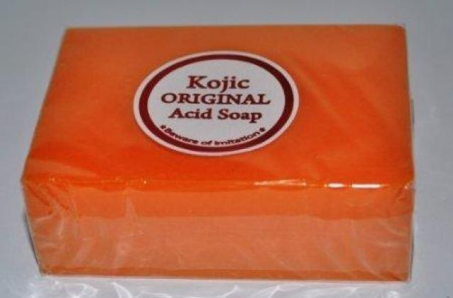 Kojic papaya original whitening soap