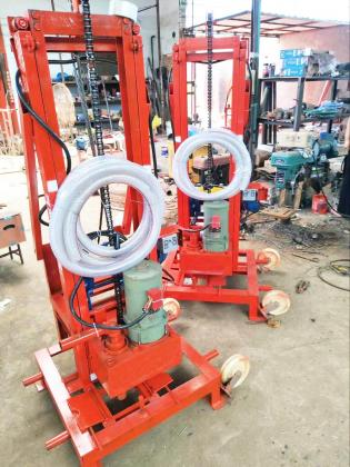 RZ-200 Electric wireless remote control drilling rig