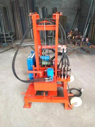 RZ-300 DIESEL Engine Hydraulic Drilling Rig