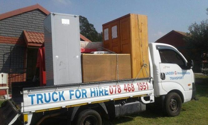 TRUCK FOR HIRE in Witbank, Mpumalanga